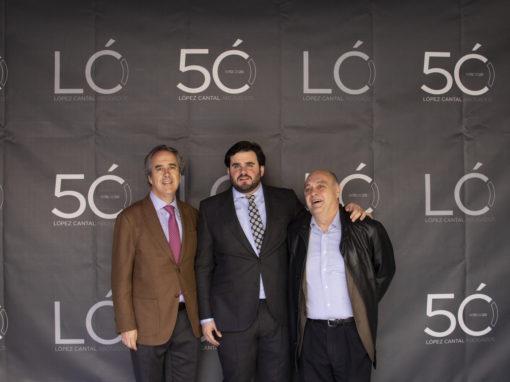 Mateo Carrasco, Javier López-Cantal y Luis Angulo